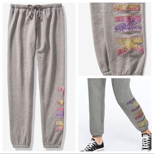 Vs pink bling classic pants